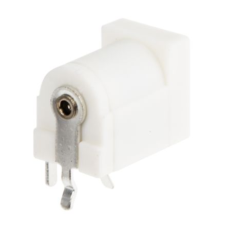 PCB Mount DC Power Socket 2.1 mm, 2.5 mm Right Angle 5A product photo