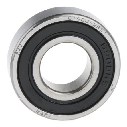 10mm OD 22mm Width 6mm 61900-2RS1 Radial Ball Bearing Double Sealed Bore Dia