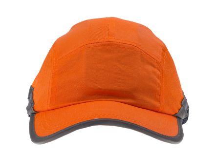 RS PRO ABS, Cotton Mesh Orange Standard Peak