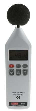 RS PRO Digital Sound Level Meter 8kHz