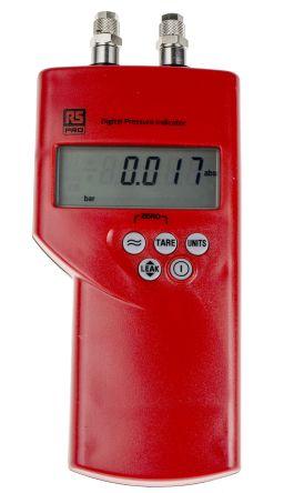 RS PRO Differential Manometer With 2 Pressure Port/s, Max Pressure Measurement 70mbar