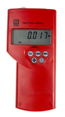 RS PRO Absolute Manometer With blank Pressure Port/s, Max Pressure Measurement 10bar