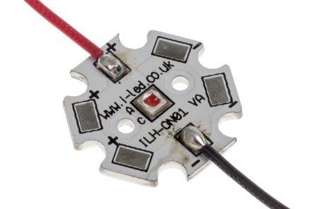 ILS IHH-OM01-HYRE-SC221-WIR200., IHH-OM01 Circular LED Array, 1 Red LED