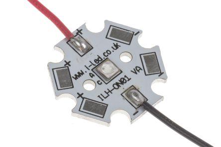 ILS IHH-OM01-DEBL-SC221-WIR200. , IHH-OM01 Circular LED Array, 1 Blue LED