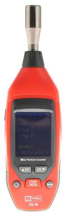 RS PRO RS-96 Air Quality Meter, Battery-powered