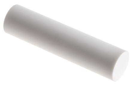 Machinable Glass Ceramic Rod, 100mm x 25mm diameter
