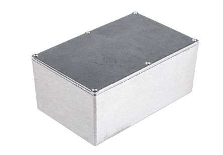 Aluminium Enclosure, IP54, IP65, IP66, Shielded, 191.6 x 111.6 x 60.5mm