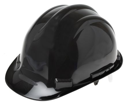 Black PP Standard Peak Helmet & Hard Hat product photo