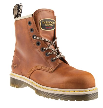 ba395b297e2 Dr Martens Icon 7B10 Steel Toe Safety Boots, UK 7, Resistant To Base, Fat,  Oil, Petrol, US 7