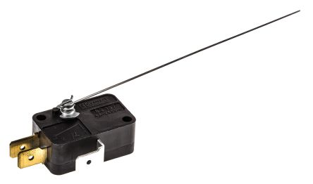 SPDT-NO/NC Lever Microswitch, 5 A @ 250 V ac