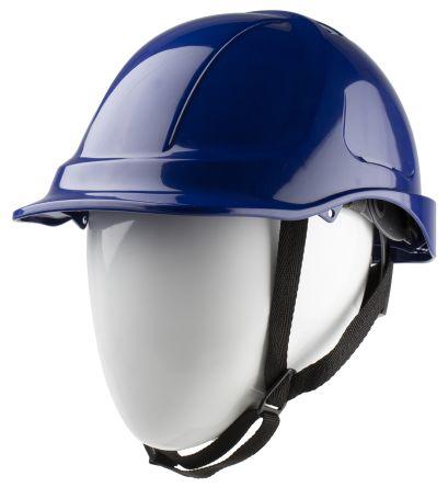 Blue ABS Standard Peak Vented Helmet & Hard Hat product photo