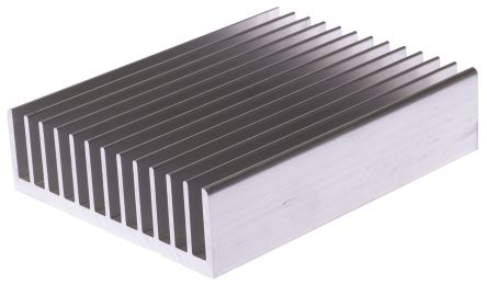 Heatsink, 1.3°C/W, 127 x 100 x 31mm, Screw