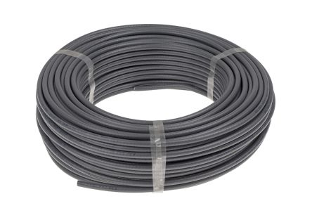 Belden Grey H155 Coaxial Cable 50 Ω 5.4mm OD Polyvinyl Chloride PVC Sheath