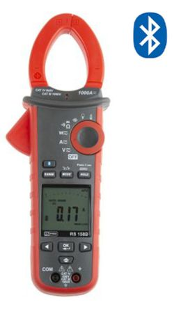 158B Bluetooth Clamp Meter, Max Current 1kA ac, 100A dc CAT III 1000 V, CAT IV 600 V product photo