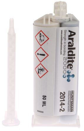 Araldite 2014-2, 50 ml Grey Cartridge Epoxy Adhesive for Various Materials
