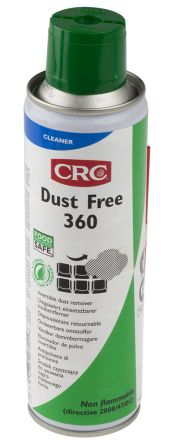 CRC 33158 Invertible Dust Free 360 Air Duster, 125 ml