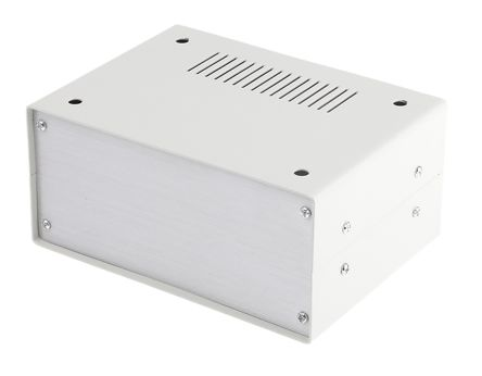 Steel Project Box, Grey, 150 x 110 x 70mm product photo