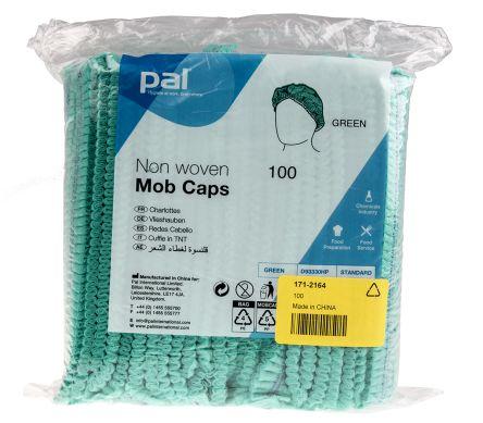 PAL Green Hair Cap, Metal Detectable