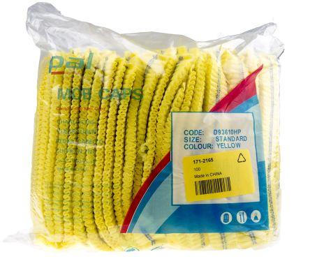 PAL Yellow Mob Cap Regular, Ideal for Food Industry Use