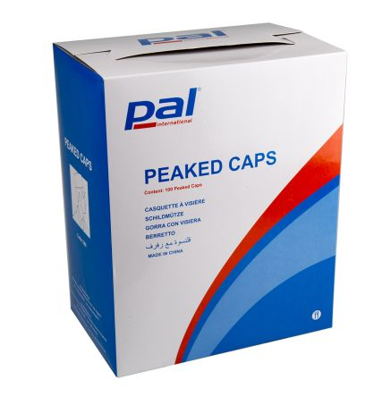 PAL White Hair Net Metal Detectable, One Size, Ideal for Food Industry Use