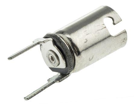 BA9s MBC metal PCB lampholder w/PC pin