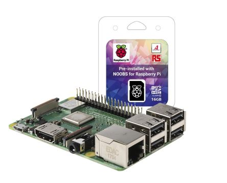 Raspberry Pi 3B+ with NOOBS Development Kit