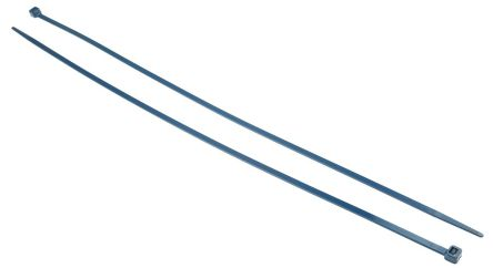 RS PRO Blue Metal Detectable Cable Clamp, 400mm x 4.6 mm