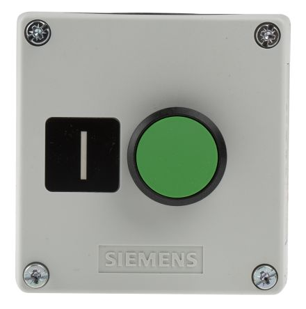 3SU1801-0AB00-2AB1 | Siemens SIRIUS ACT NO 22mm Push Button