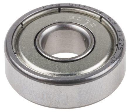 Deep Groove Ball Bearing 607-2Z-C3 7mm I.D, 19mm O.D