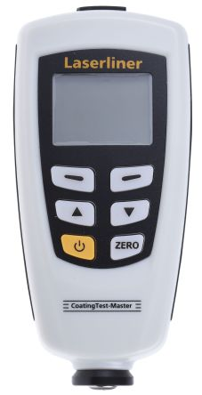 Laserliner 082.150A Thickness Gauge, 0μm - 1250μm, ±3 % Accuracy, 1 μm Resolution, LCD Display