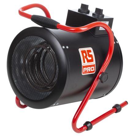 3kW Fan Heater, Floor Mounted, Type G - British 3-pin