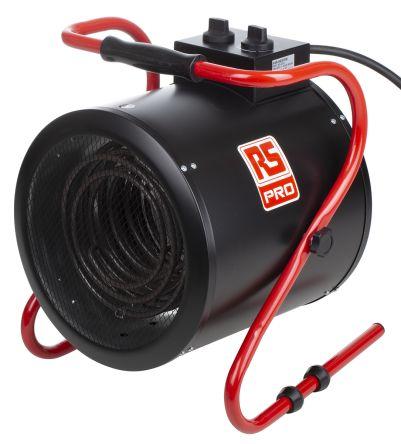 9kW Fan Heater, Floor Mounted, 415 V BS4343/IEC60309
