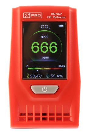RS PRO Обнаружение газов- Углекислый газ