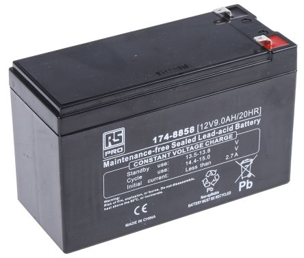 Lead Acid Battery -, 9Ah