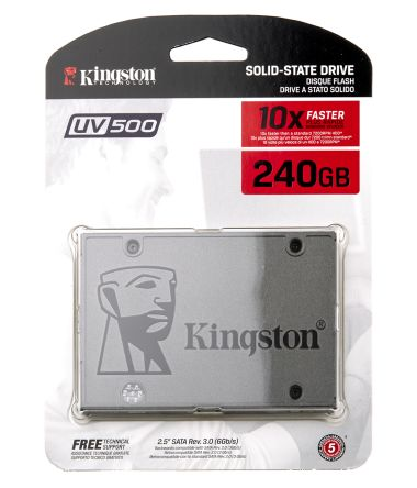 Kingston UV500 2.5 in 240 GB SSD Drive