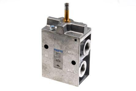 "3//2 Way G1//8/"" Thread Emergency Stop Pushbutton Pneumatic Mechanical Valve"