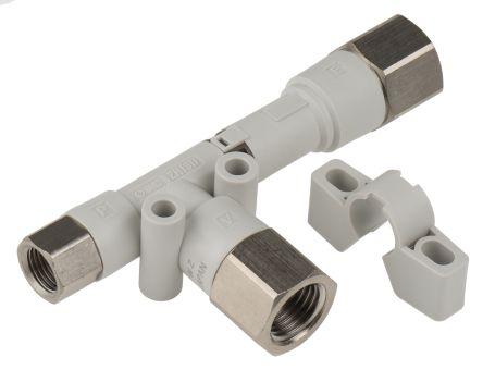 SMC Vacuum Ejector, 1.3mm nozzle , -90kPa 40L/min