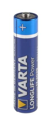 Varta High Energy Alkaline AAA Batteries 1.5V -20