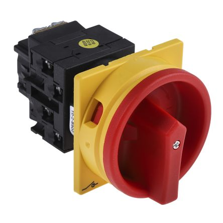 Eaton 3 + N Pole Flush Mount Non-Fused Switch Disconnector - 20 A Maximum Current, 5.5 kW Power Rating, IP65