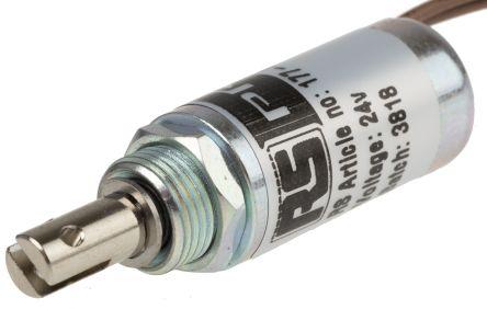 Pull Action Tubular Solenoid, 24 V, 40W