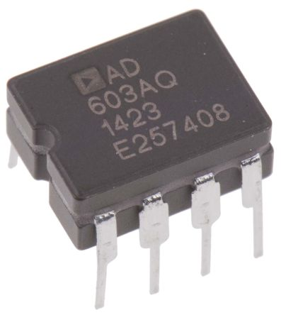 Analog Devices AD603AQ, Controlled Voltage Amplifier 8-Pin CDIP