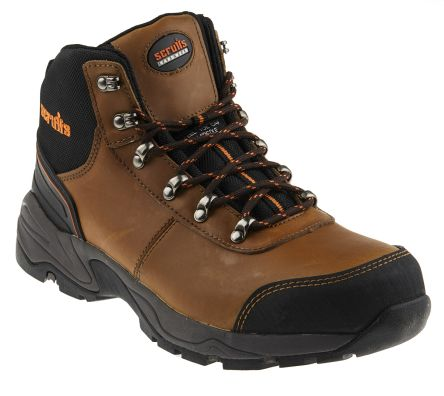 0942af9e750 Scruffs Assault Steel Toe Ankle Safety Boots, UK 8, US 9