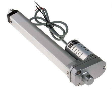 RS PRO Electric Linear Actuator, 24V dc, 200mm stroke