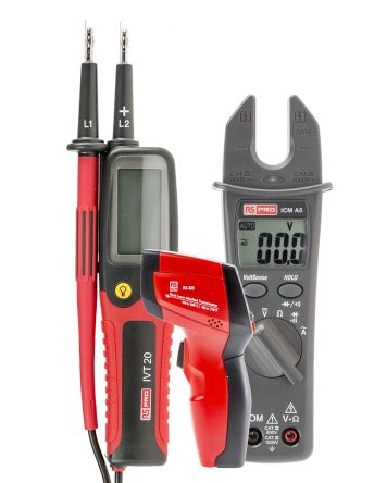 RS PRO RS-820 IR Thermometer, Max Temperature +380°C
