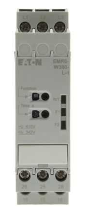 Eaton Phase, Voltage Monitoring Relay, 380 V Supply Voltage