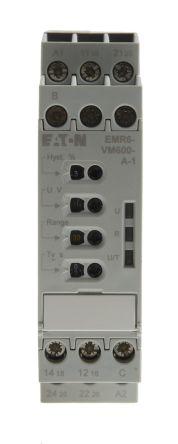 Eaton EMR6 Voltage Monitoring Relay, 24 → 240 V ac/dc, 1 Phase