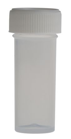 RS PRO Laboratory Bottle Storage Bottle PP, 7ml