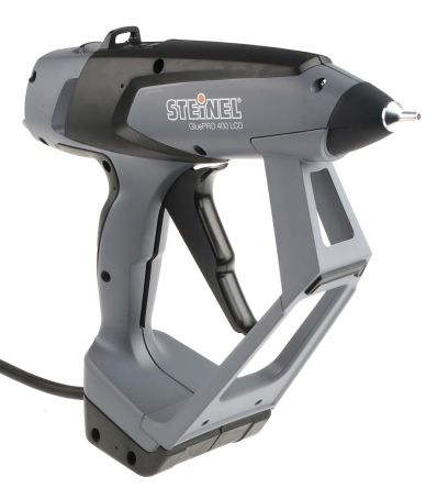 Steinel GluePRO 400 LCD Gluematic 5000 Hot Melt Glue Applicator for use with 11.7mm Glue Sticks