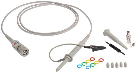 RS PRO Oscilloscope Probe, Probe Type: Passive 100MHz 10:1