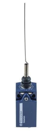 Telemecanique Sensors, Snap Action Limit Switch - Metal, NO/NC, Spring Return Cats Whisker, 240V, IP66, IP67